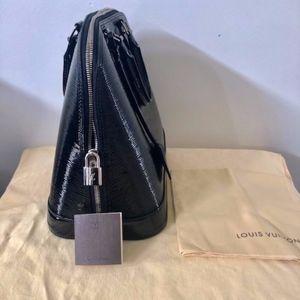 Louis Vuitton alma mm epi electric